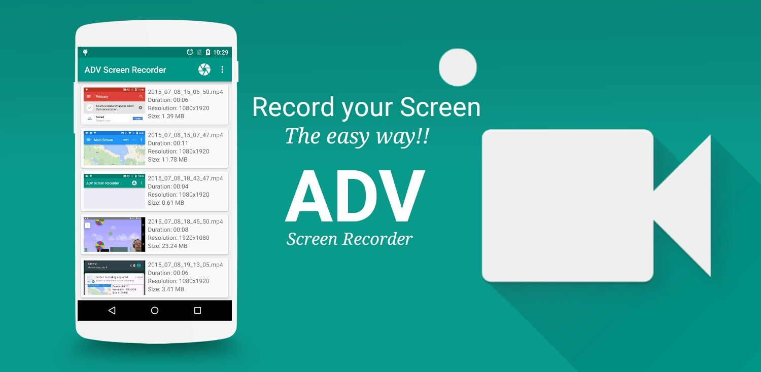 Best android screen recoder application