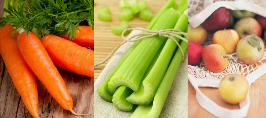 Celery, apple and carrot juice for arthritis