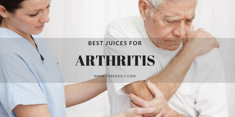 How To Make Juice For Arthritis