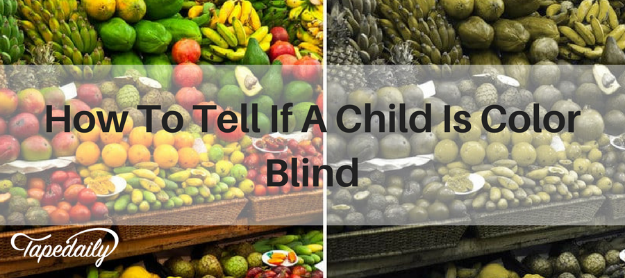 How To Tell If A Child Is Color Blind