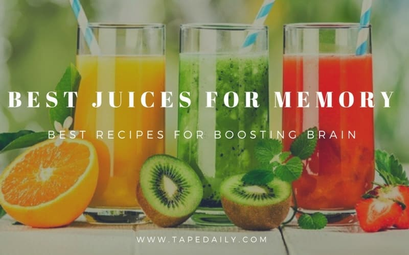 The Best Juices for Memory - Recipes for Brain Boosting
