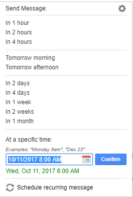 schedule emails_ settings