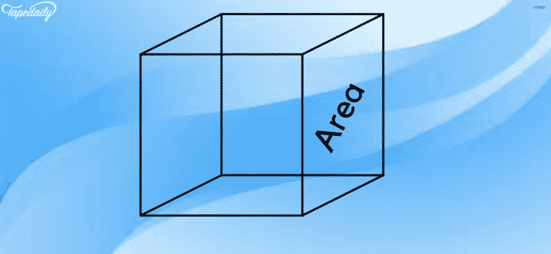 volume of cube using surface area