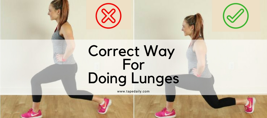 Correct Way ForDoing Lunges