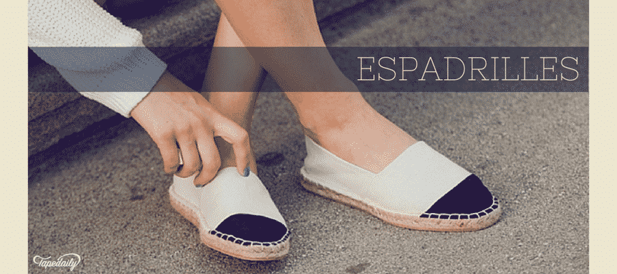 Espadrilles comfortable for summers