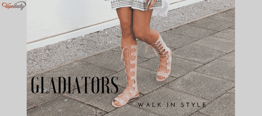 Gladiators For Summer Outfits