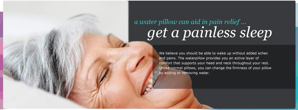 Waterpillow for better sleep