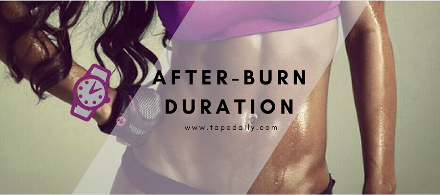afterburn duration