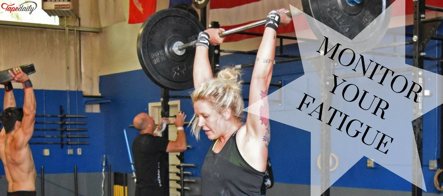 fatigue while weightlifting