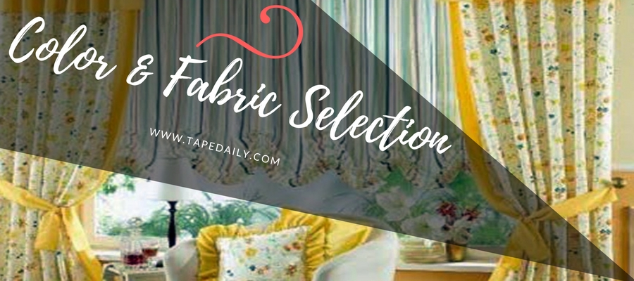 Color&FabricSelectionOfCurtains