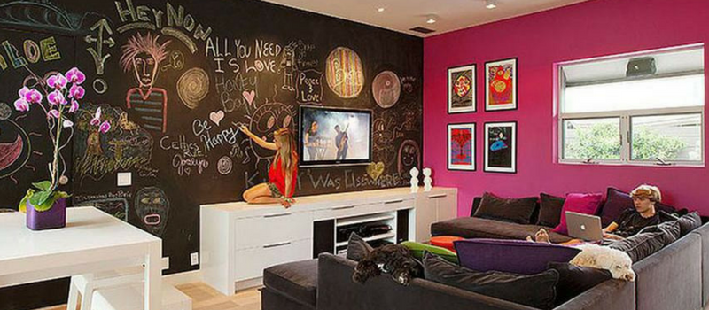 How To Decorate With Chalkboard Paint – 5 Creative Ideas