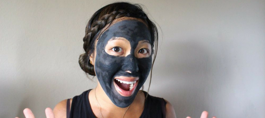 Treating acne with charcoal