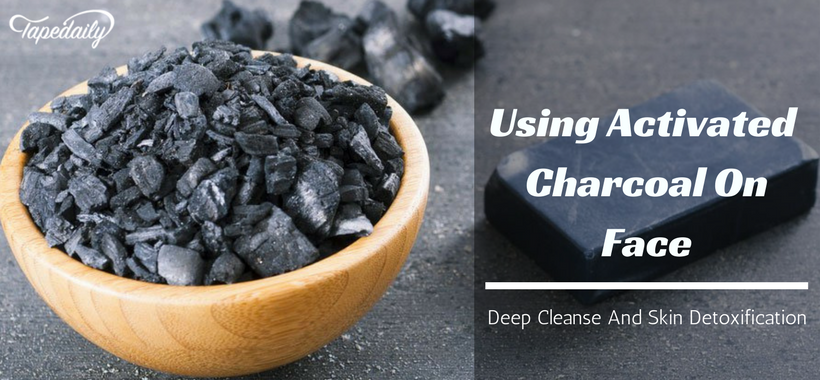 Using activated charcoal for face