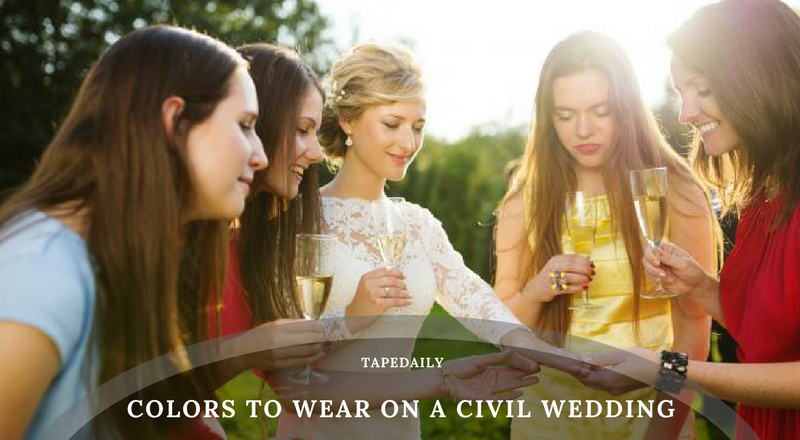 Colors to Wear on a Civil Wedding