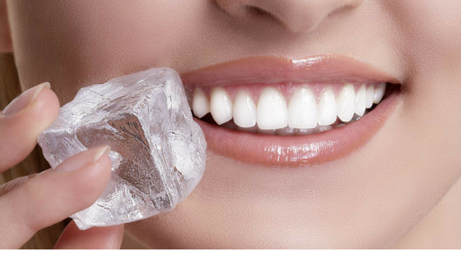 Is It Bad to Eat Ice Cubes?