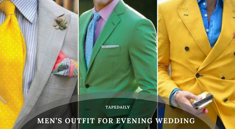 Men's Outfit for Evening Wedding Event