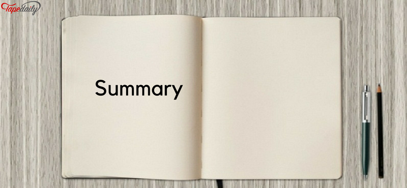 Summary of your work