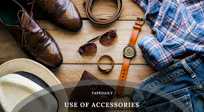 Use of Accessories & Different Hairstyles