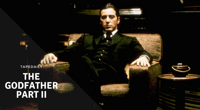 the Godfather part II to be watched on New Year's Eve