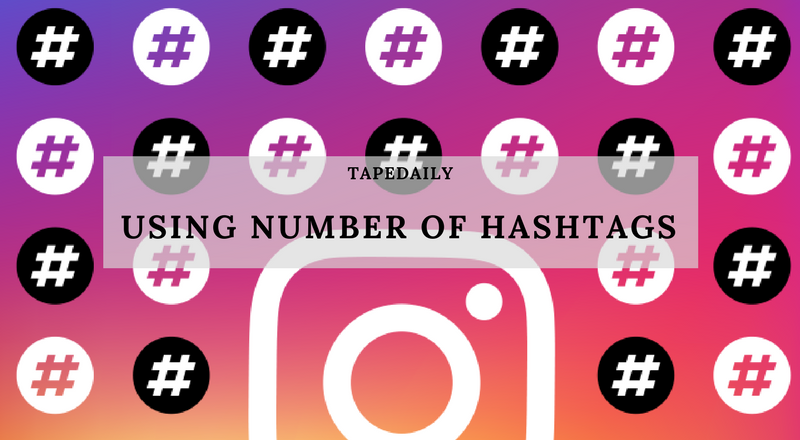 using number of hashtags on instagram