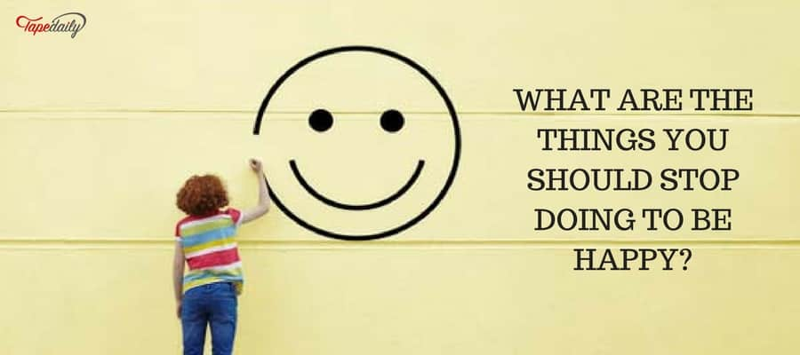 Things that stop doing too happy
