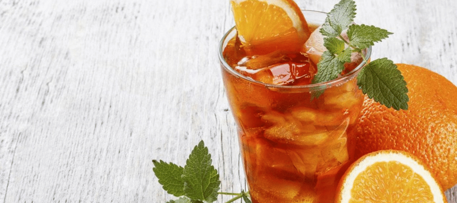 Orange tea for weight loss