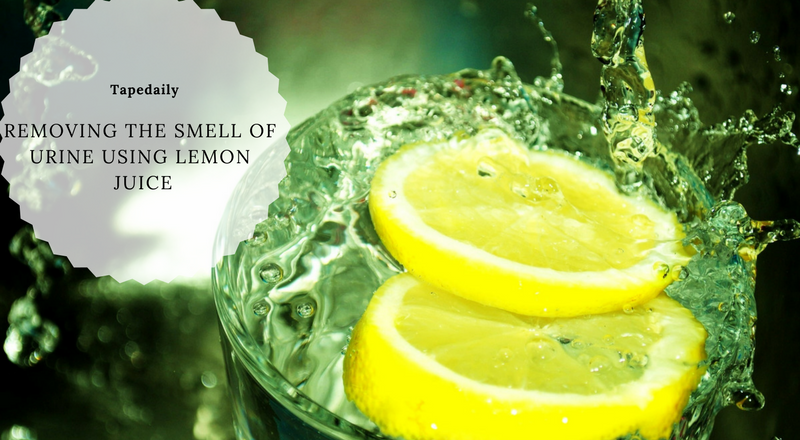 REMOVING THE SMELL OF URINE USING LEMON JUICE