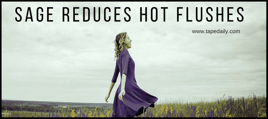 Sage Reduces Hot Flushes