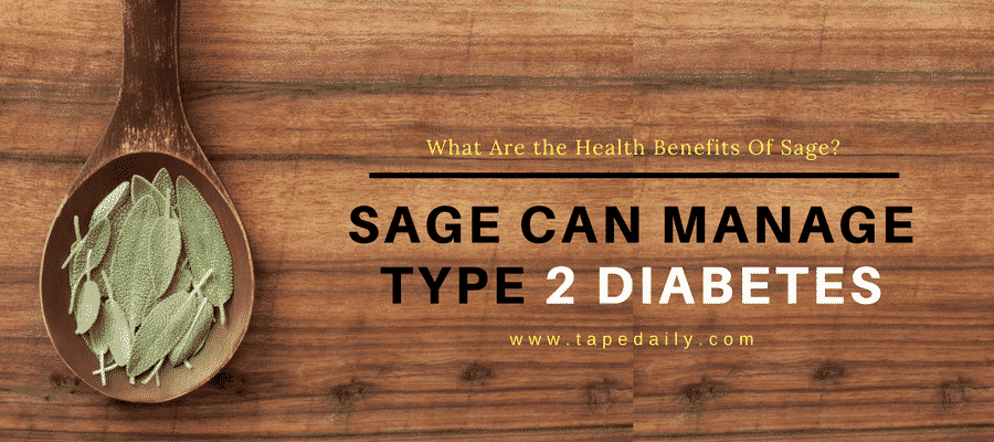 Sage can Manage Diabetes
