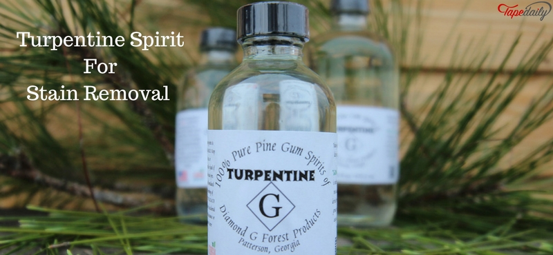 Turpentine Spirit For Stain Removal