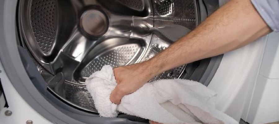 clean smelly washer