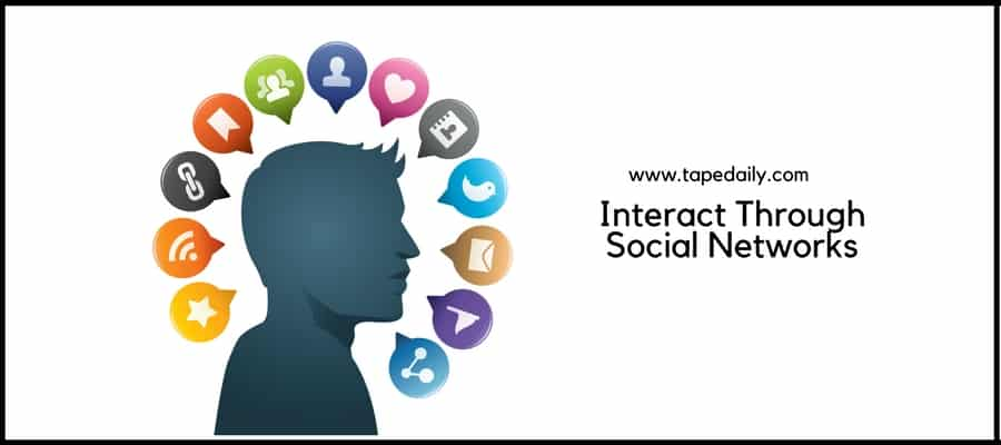 Interact by Social Networks