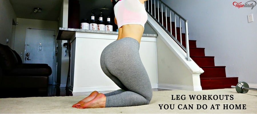 Leg Workouts You Can Do At Home