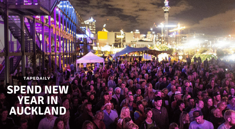 Spend New Year in Auckland