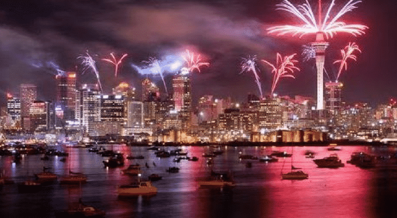 Spend New Year in New Zealand