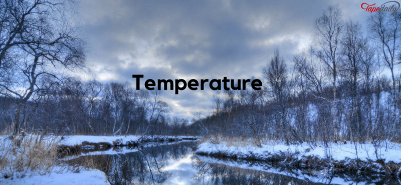 Temperature of the river water