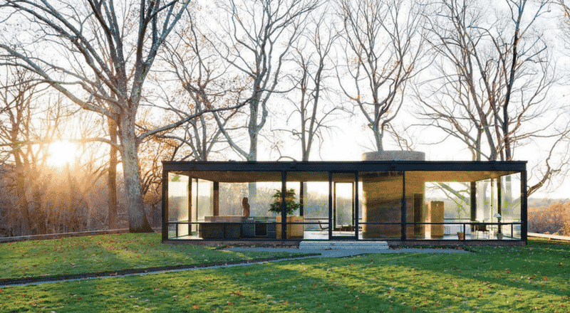 all the benefits of glass house