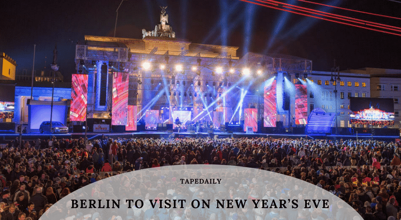 Berlin to Visit on New Year's Eve