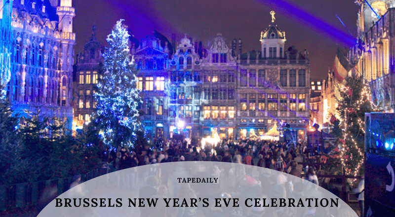 Brussels New Year's Eve Celebration