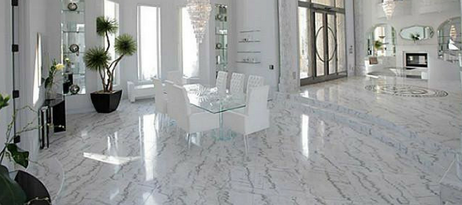 Can i use vinegar to clean marble floors