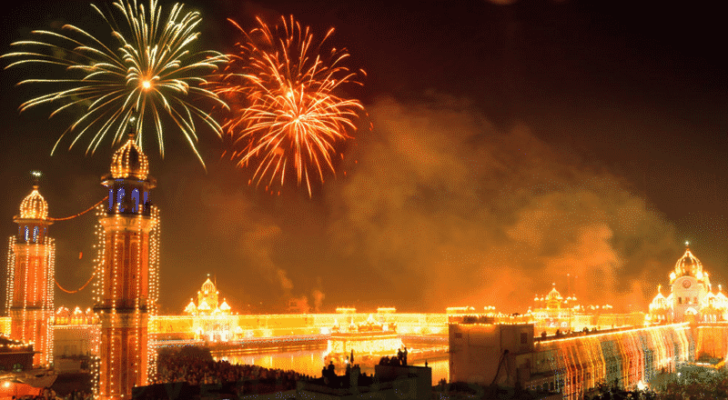 Celebrate New Year in India