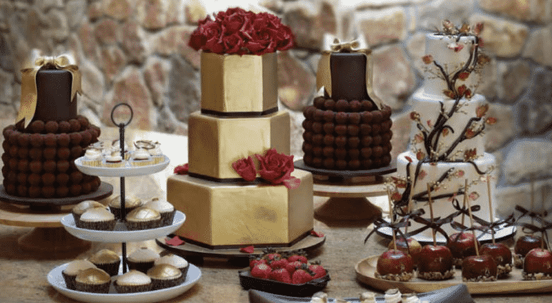 Dessert Table for a Wedding