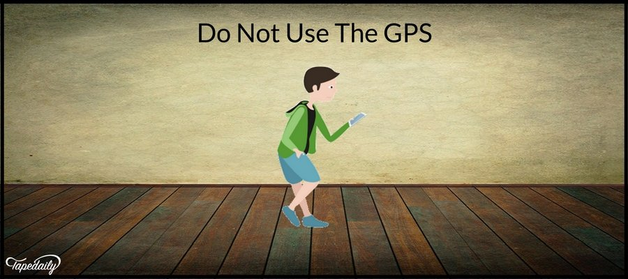 Do Not Use The GPS