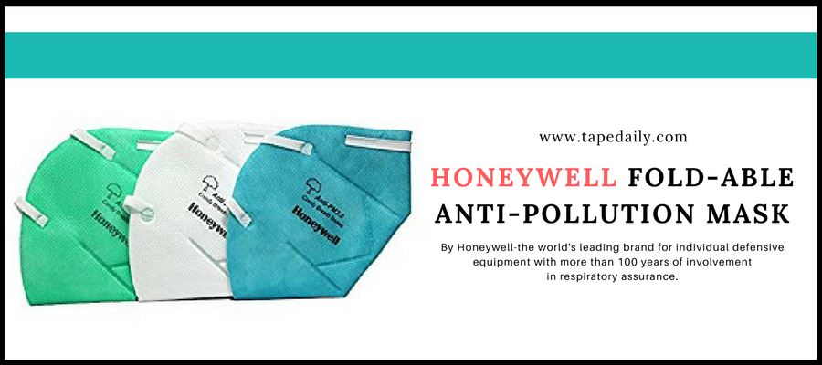 Masque anti-pollution pliable Honeywell