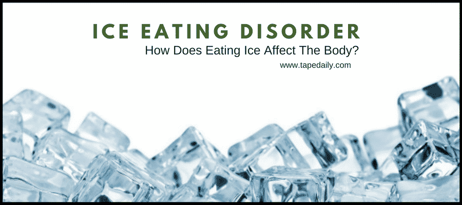 How Does Ice Eating Effect The Body