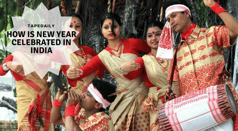 How is New Year Celebrated in India