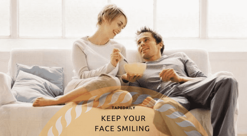 KEEP YOUR FACE SMILING