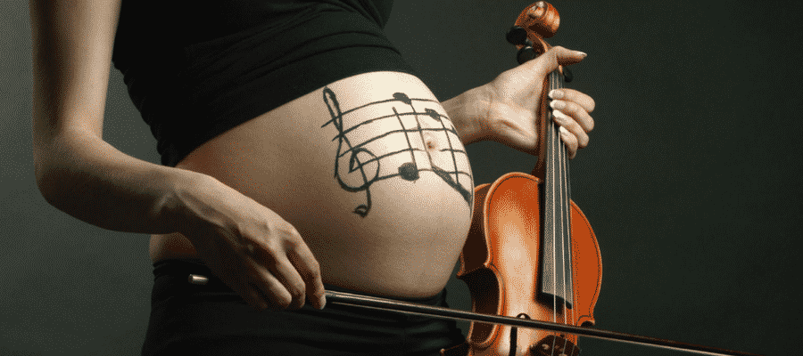 Music during pregnancy
