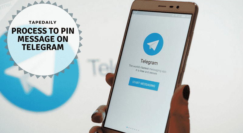 PROCESS TO PIN MESSAGE ON TELEGRAM