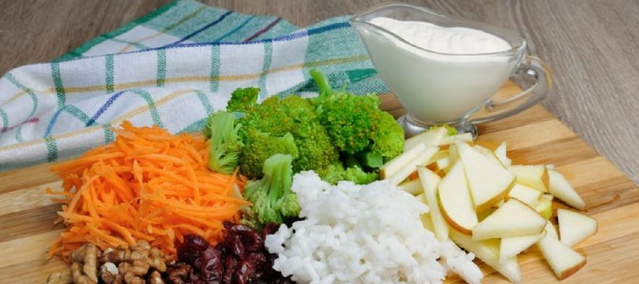 Rice And Fruit